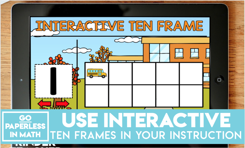 Interactive Ten Frame