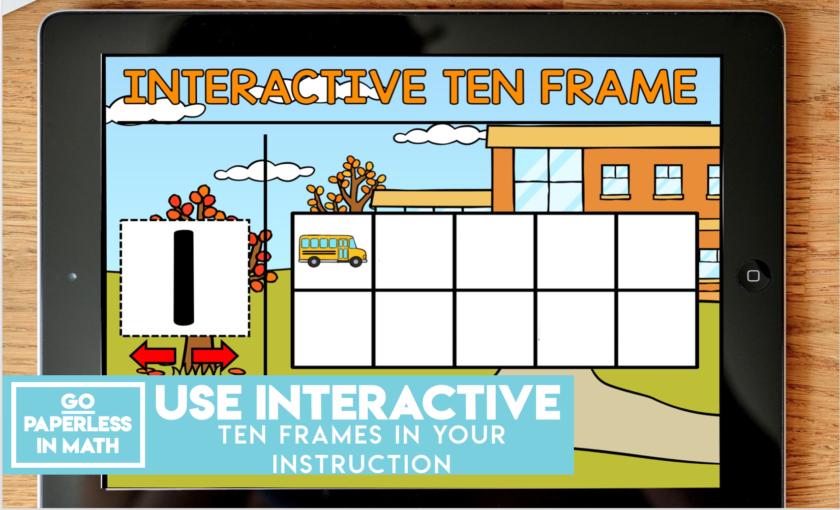 Interactive Ten Frame