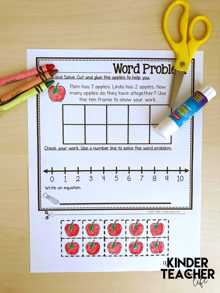 Solving Word Problems Using Multiple Strategies Worksheets