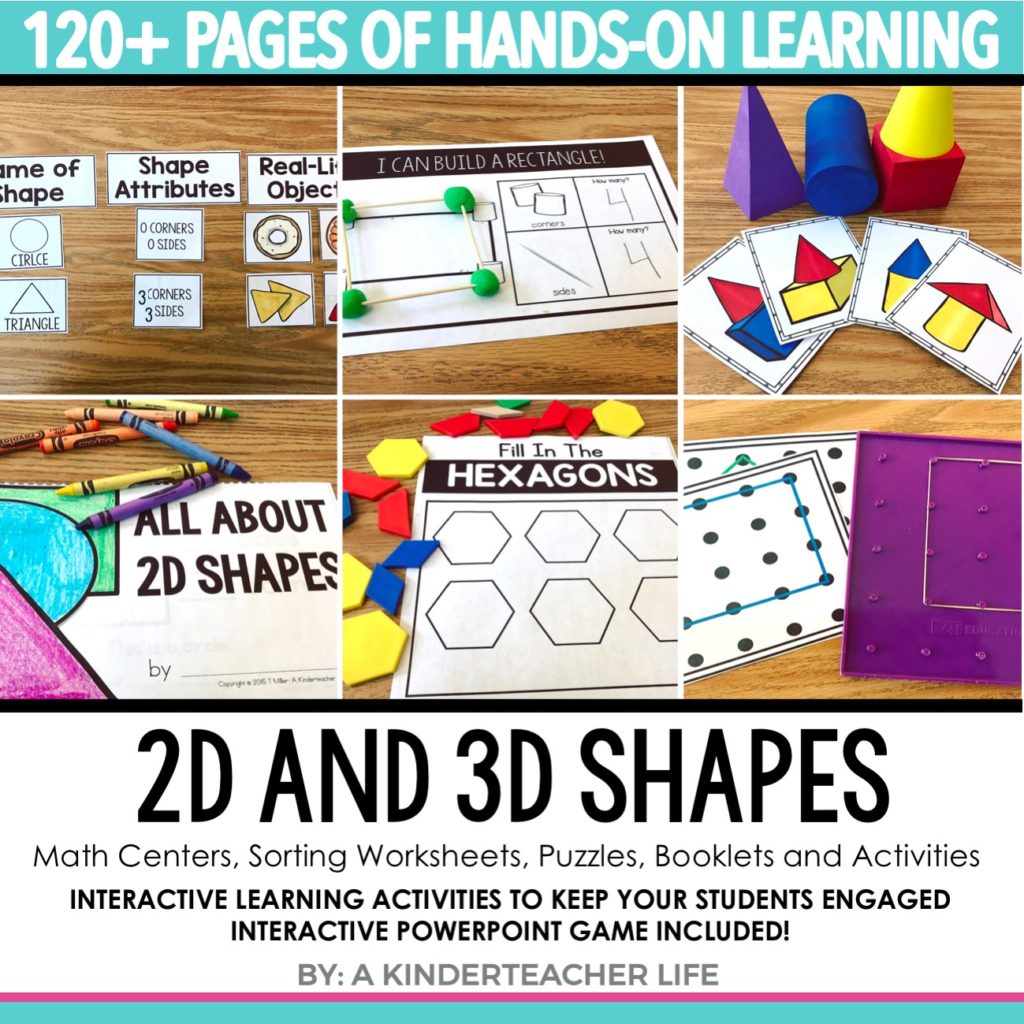 Hands-on Shapes Activities