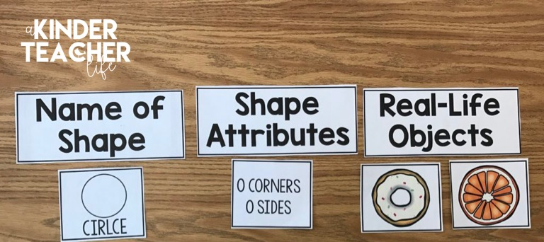 Shape Sort activity