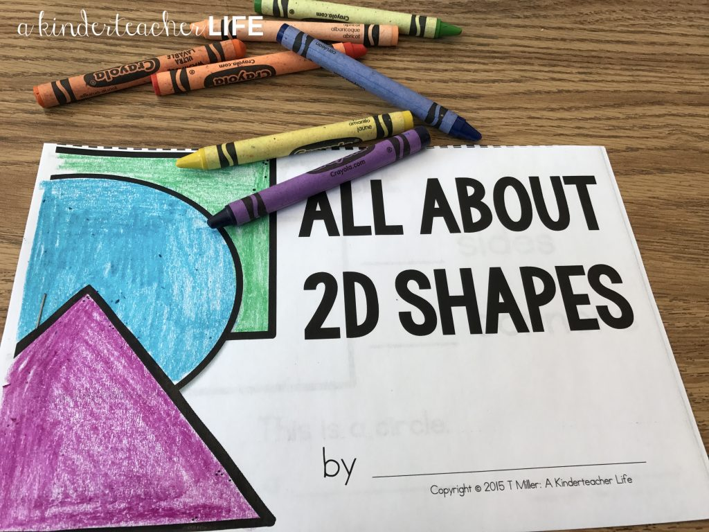2D Shape booklet
