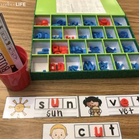 Build and Write: Phonics Activity