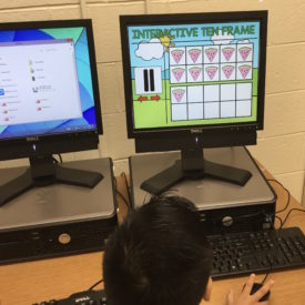 Interactive Ten Frame for Math – Go Paperless!