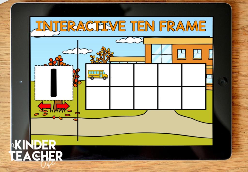Interactive Ten Frames
