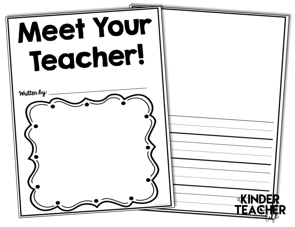 Free Meet the Teacher Book