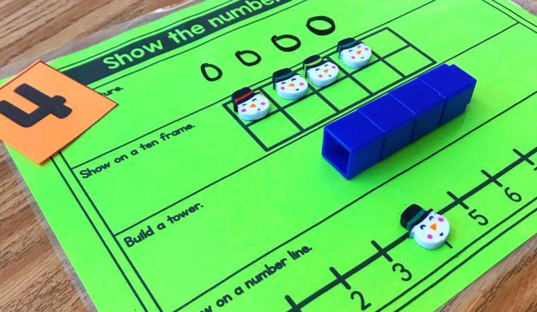 Show the Number 4 Ways – Number Sense Math Game