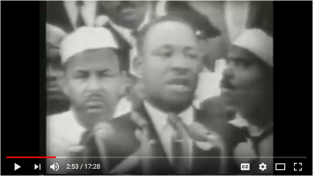 Watch Martin Luther King, Jr.'s I Have a Dream Speech