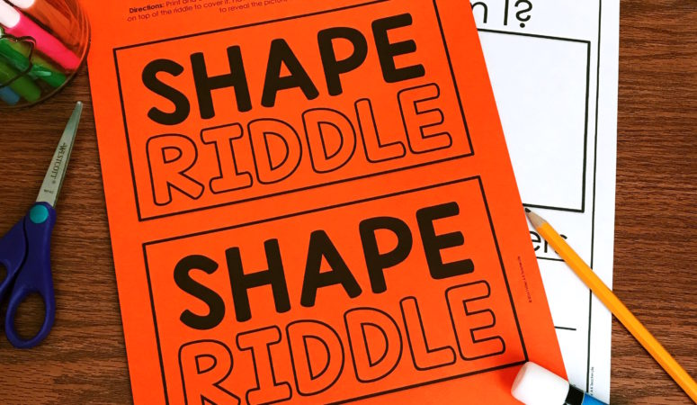 2D and 3D Shape Riddles (Free Printables Included!)