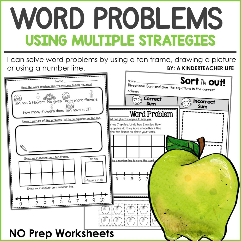 Lets Solve Word Problems Using Multiple Strategies A