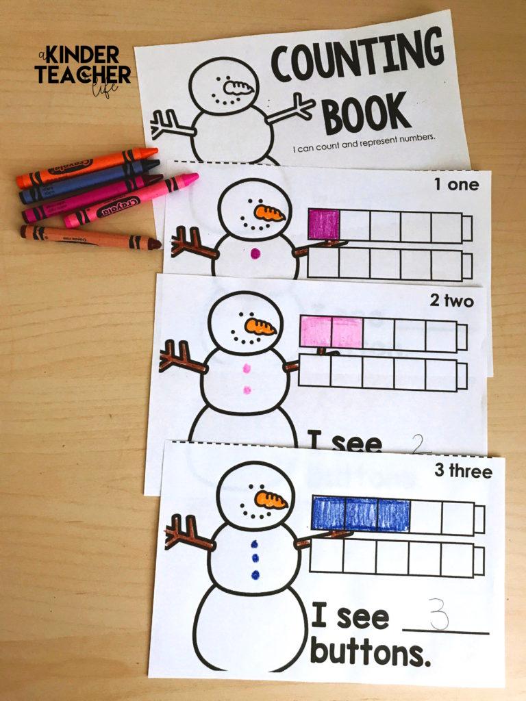 free counting book math kindergarten 768x1024 - Kindergarten Math Books