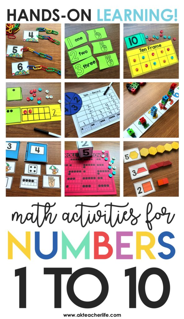 Math Centers For The Beginning Of The Year Freebie Included A