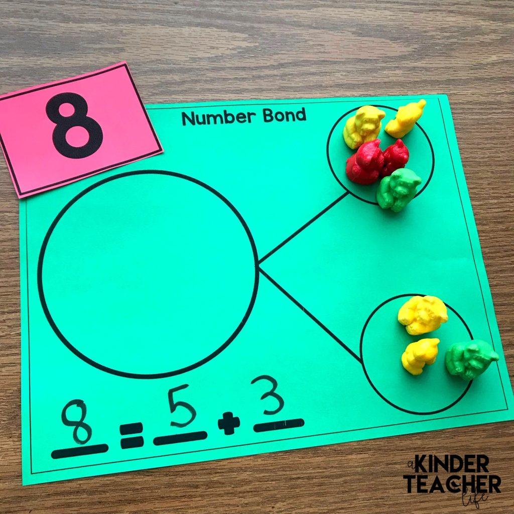 Decomposing Math Center Activities A Kinderteacher Life - Download Composing And Decomposing Numbers Kindergarten Worksheets Pics