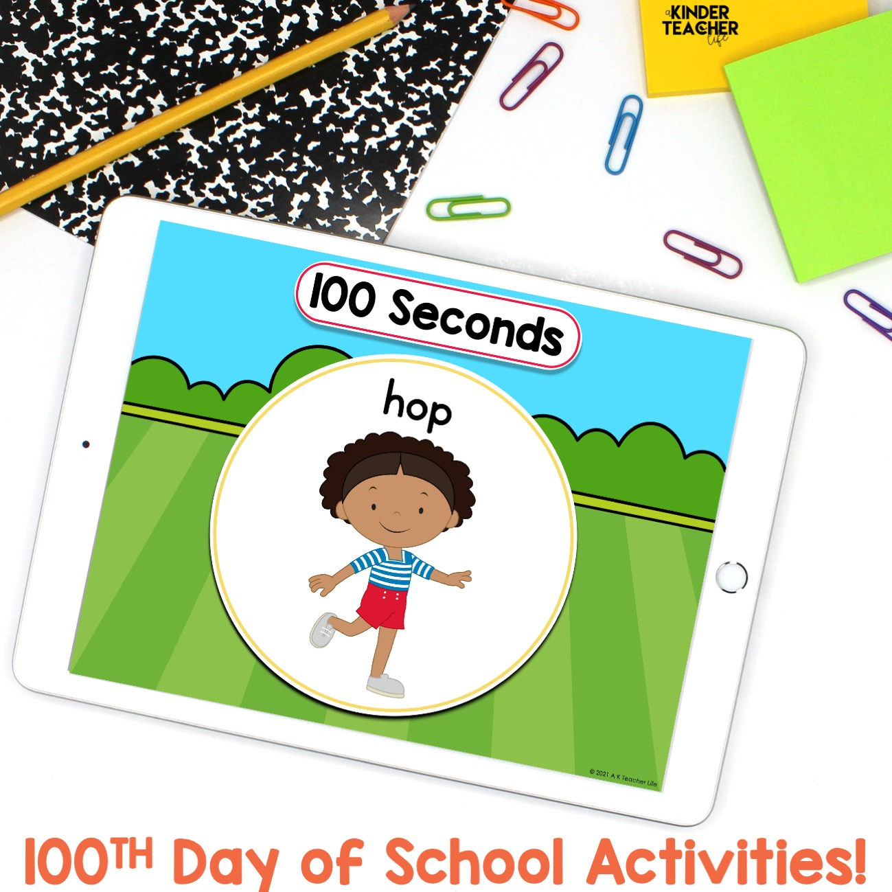 Five Quick and Fun 20th Day of School Activities   A ...